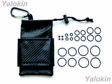 Storage Pouch and O-Rings for Vapes,RDA,RBA,Drip Tips, APVs & Mods (BCF-24OR)