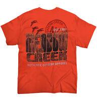 Meadow Creek Fishing Hunting Camping Nature Mens T-Shirts T Shirts Tees Tshirt