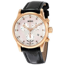 Mido Multifort Rose Gold PVD Stainles Steel Ladies Watch M005.217.36.116.20