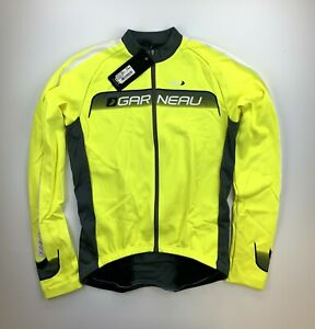 Louis Garneau Equipe Long Sleeve Yellow Jersey Size Medium New with Tags
