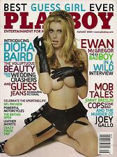 Playboy Magazine AUGUST  2005-F –TAMARA WITMER –EWAN MCGREGOR –DIORA BAIRD NUDE!