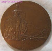 MED7710 - MEDAILLE IV° CONCOURS NATIONAL DE TIR LYON 1891 par NAUDÉ
