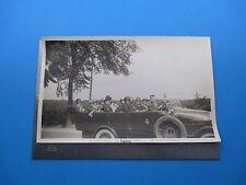 1925 A-Char-A-Banc France Tour Car Photo B&W Antique Original Circa 1925 L319