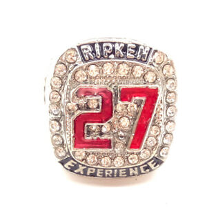 #27 RIPKEN EXPERIENCE Championship rings