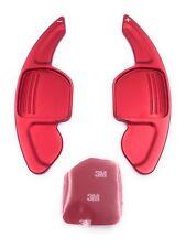 DSG Schaltwippen Shift Paddle TYP A für Seat Leon 5F, auch Cupra eloxiert rot