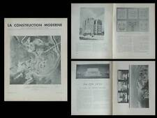 LA CONSTRUCTION MODERNE - n°37 -1936 - PARIS, SALON DES ARTISTES FRANCAIS 1936