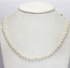 4f45464353a0 Collar de Perlas Agua Dulce 14K Oro Amarillo 67 White 6mm 45.7cm Largo