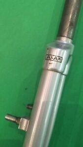 """Forcella Alan alluminio 28 fork 1"""" Vintage rare . Canotto 18 filetto 3,5"""