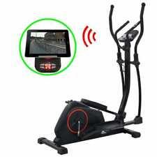 vidaXL Crosstrainer met App 18 kg Roterende Massa Cross Trainer Hometrainer