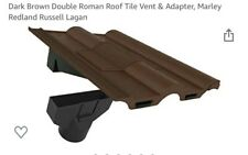 Roof Tile Vent To Fit Marley Double Roman, Redland 50 Double Roman
