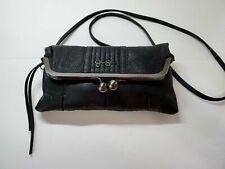 Jessica Simpson Black Handbag, Clutch & Shoulder Strap, Med. size, Free Shipping
