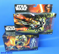 HASBRO STAR WARS / B3717 / B3718 / 2x Stormtrooper plus speeder Bike und Walker