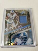 Kenny Golladay 2020 Spectra Sunday Spectacle Jersey Prizm Relic 45/75 Lions