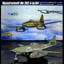 HOBBY BOSS 1/48 MESSERSCHMITT ME 262 B1a/U4  W/ METAL WEIGHTED FRONT GEAR BAY