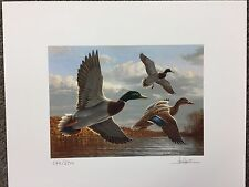 Authentic Limited Edition 1998 Ct Duck Stamp Print