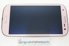 OEM Samsung Galaxy S3 GT-i9300 LCD with Digitizer and Frame Original PINK