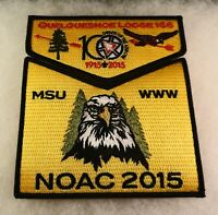 2015 NOAC Centennial OA Nisha Kittan Lodge 114 SMY BDR 2pc Flap S424