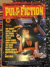 John Travolta Signed Full Size Movie Poster: Pulp Fiction 24 X 36