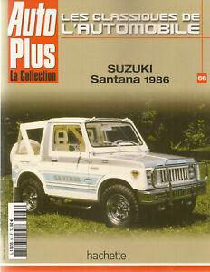 LES CLASSIQUES DE L'AUTOMOBILE 66 SUZUKI SANTANA 1986 SAMURAI SJ410 SJ 413