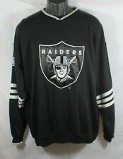 Vintage LA Los Angeles Raiders Sweatshirt NFL Football Starter Size Large