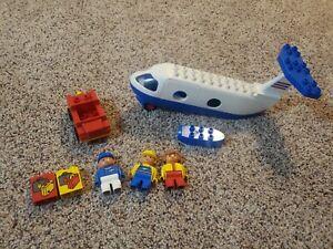 Vintage LEGO DUPLO Set 2678 Preschool JETLINER Plane 1993 - Incomplete