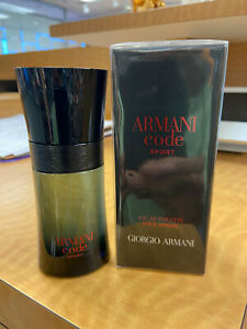 ARMANI CODE SPORT GIORGIO ARMANI  EDT 1.7 OZ / 50 ML SPRAY MEN NIB SEALED