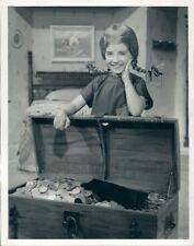1961 Press Photo Actress Gina Gillespie Pippi Longstocking Temple Storybook TV