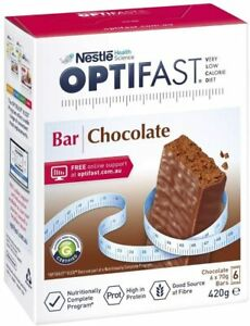 Optifast VLCD 70g x 6 Bars Chocolate High Protein Nutritionally Complete Diet