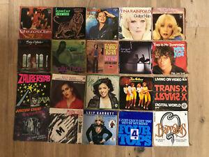 Schallplatten Singles Convolut verschiedene Interpreten
