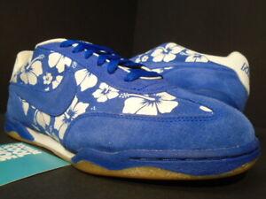 2004 NIKE AIR ZOOM FC DOERNBECHER ALOHA FLORAL ROYAL BLUE WHITE 308173-441 8.5