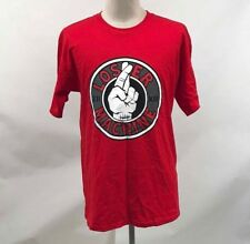 Loser Machine Men's T-Shirt Bozo Red Size M NWT Adrian Lopez Suicide Hand
