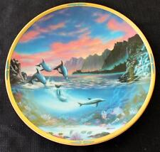 Vintage 1994 Lenox Sea of Dreams Collection New Day Décor Plate by Van Raemdonck