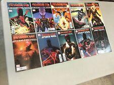 Shadowland 1-5 Complete Set Plus 5 One shots Marvel Comics 2010