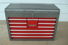 Vintage Craftsman 10 Drawer Tool Chest Top Box Tool Box 65282 With Keys (2 of 2)