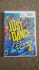 Just Dance: Disney Party 2 (Nintendo Wii, 2015) Video Game Tested. No manual
