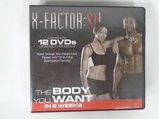 X-Factor:St 12 Dvd Workout Program / The Body You Want in 8 Weeks