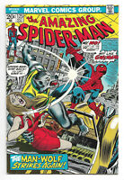 Amazing Spider-Man # 125 Marvel Comics 1973 Origin & 2nd Appearance of Man-Wolf