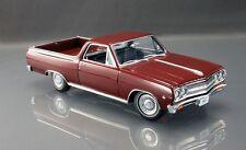 ACME 1965 Chevrolet El Camino Madeira Maroon 1:18 LE 300pcs #A1805405  New Item*