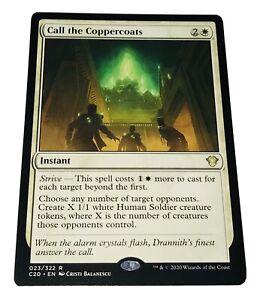 Mtg. Commander 2020. C20. 23. Call The Coppercoats.
