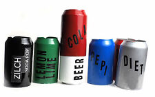 6  HIDE A BEER CAN  COVERS photo is a generic representation of cans u receive