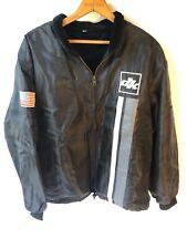 DK Bikes 90's Racing Stripe Jacket Rare Retro Classic US Flag M