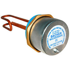"""Backer  Backersafe 11"""" Immersion Heater Complete with thermostat- BAK311"""
