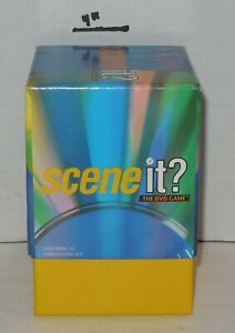 2003 Mattel Scene It 1st edition DVD Game Replacement Question & Answer Cards