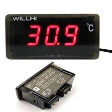 -30-300℃ Digital LED Thermometer Fridge Freezer Temperature Meter NTC Sensor RED