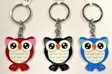 Keychain Metal Owl Enamel (Color May Vary)