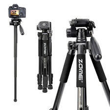ZOMEI Q222 Tripod Monopod Lightweight Portable Travel Tripod for Camera Sony