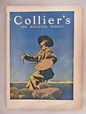 "Collier's Magazine - May 1, 1909 ~~ Maxfield Parrish ""The Artist"" cover art"