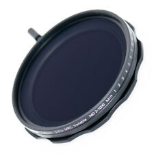 JONGSUN 62mm Variable ND Filter 10-Stop ND2-ND1000 Graduated Neutral Density