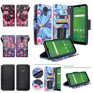 Cricket Ovation, AT&T Radiant Max (U705AC/U705AA) Case Wallet Case Stand Cover