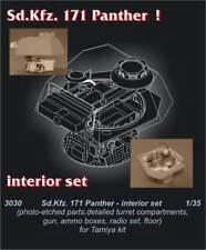 Czech Master 1/35 PZ. V Panther interni Set per Tamiya kit # 3030